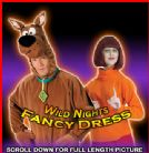 2 x NEW fancy dress costumes ~ SCOOBY DOO + VELMA combo